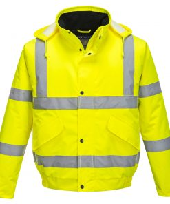 Portwest C466 hivis yellow bomber jacket
