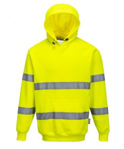 Portwest B304 yellow hoodie