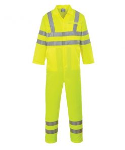 Portwest E042 hivis polycotton coverall