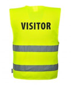 visitor hivis vest