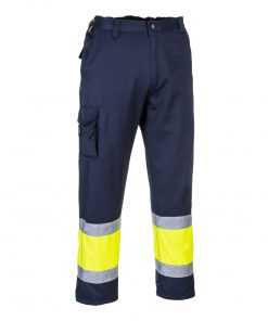 Porwest E049 hivis two tone trousers